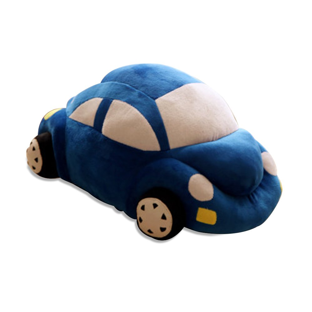 WuKong 17.7'' Kids' Home Store Nursery Decor GIft Sets Car Plush Toy (45cm, Blue)
