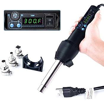 Jiading Professional 1600w Hot Air Gun Pvc Heat Gun Hand