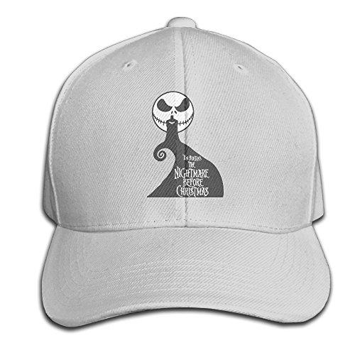 Karoda JACK's Nightmare Adjustable Baseball Cap/Hat Hip Hop Hat Ash