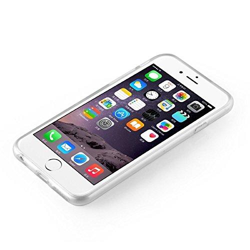 Iphone 7 Plus Caso por licaso® para el patrón de Iphone 7 Plus TPU Caticorn Gato Unicornio Cat Unicorn de silicona ultra-delgada proteger su Iphone 7 Plus es elegante y cubierta regalo de coches Blitz & Brille