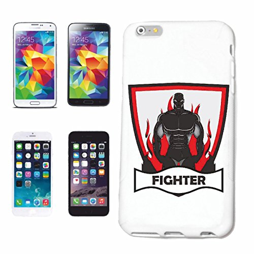 """cas de téléphone iPhone 7 """"BATAILLE DE WARRIORS FIGHT CLUB MMA ARTS IMPORTANTS MIXTES Fightclub STREET FIGHT BOXE KARATE KICK BOXING JUDO"""" Hard Case Cover Téléphone Covers Smart Cover pour Apple iPhon"""
