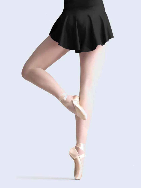 Capezio Women's Circle Skirt, Black, Small