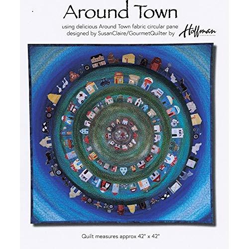 - Around Town Quilt Pattern by Gourmet Quilter