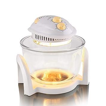 Freidora doméstica multifunción máquina de papas fritas freidora eléctrica inteligente horno horno de ondas de luz: Amazon.es: Hogar