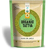 Organic Tattva Moong Dal Whole, 1kg