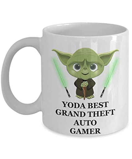 Yoda Best Grand Theft Auto Gamer Birthday Gifts For Game Lovers Husband Dad Son Boyfriend Brother