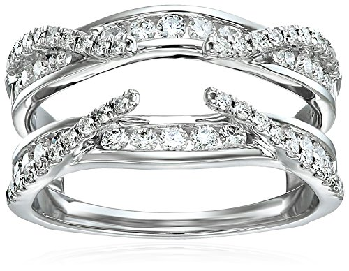 nd Solitaire Enhancer Ring (3/4cttw, I Color, I2 Clarity), Size 7 (Diamond Solitaire Enhancers)