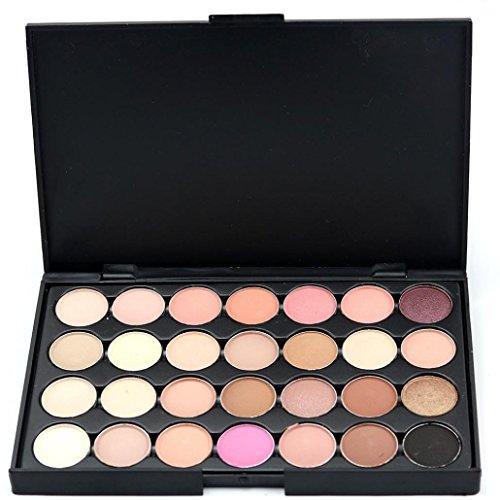 Molyveva 28 Colors Women Cosmetic Makeup Natural Warm Eyeshadow Palette (Old Lady Halloween Makeup Tutorial)