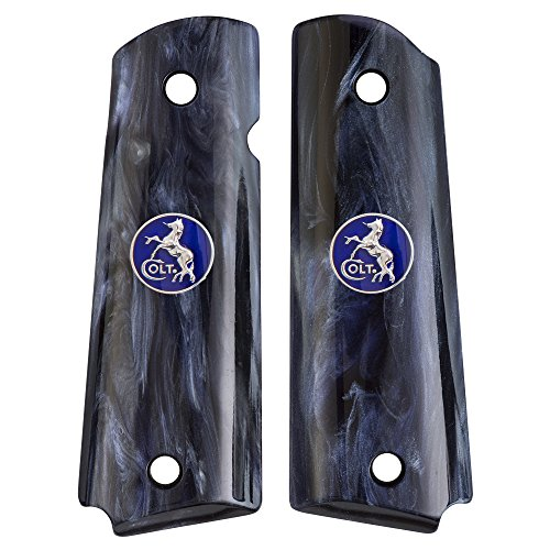 Ajax 1911 Pearlite Grips - Fits: Compact & Officer Models...
