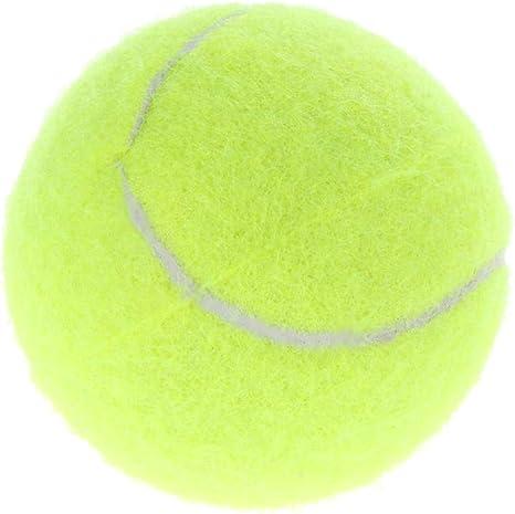 GZXHWWJ Juguete para Perros 6 cm Pelota de Tenis para Perros ...