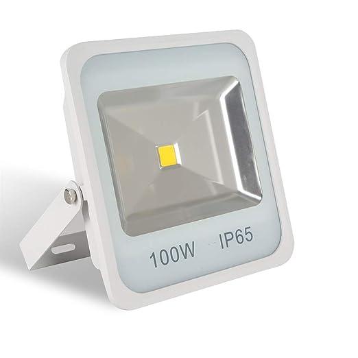 AUFUN Focos de exterior Led 100W blanco frío Proyector LED ...