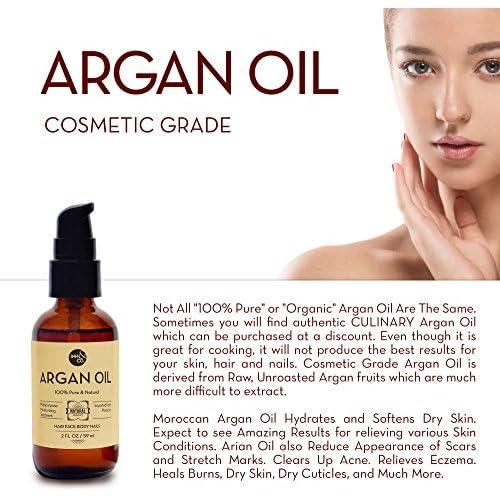 50%OFF Inn&Co Organic Moroccan Argan Oil Treatment - 2 fl Oz- For