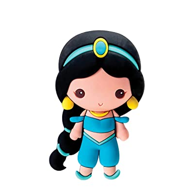 Disney Princess Jasmine 3D Foam Magnet: Toys & Games