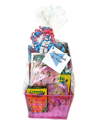 Sweet Deals by Nicole Kids Gift Basket-Princess Theme-Great for Easter, Valentine's Day or Birthdays