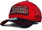 MLB New Era 9FORTY Trip Trucker Mesh Snapback Cap (Washington Nationals)
