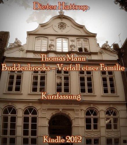 Budeenbrooks by Thomas Man - Great Books Guide