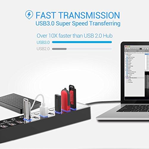 Buy powered usb hub with ac adapter