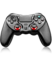 Maexus Manette sans Fil pour PS4, Gamepads et manettes pour Playstation 4 & PC Window Video Games, Manette de Jeu vidéo Dual Vibration Shock Pro Game Controller