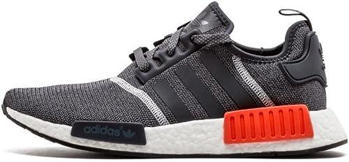 adidas nmd r1 grey grey solar red