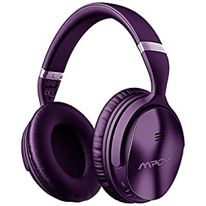 Mpow [actualización] activo cancelación de ruido auriculares Bluetooth, estéreo 40 mm Conductor móvil