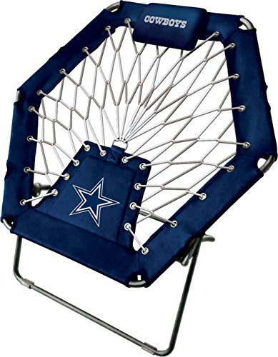 - Imperial Officially Licensed NFL Furniture: Premium Bungee Chair, Dallas Cowboys