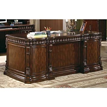 executive desk wooden classic. coaster home furnishings tucker modern traditional five drawer executive office desk with cpu storage rich wooden classic