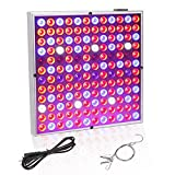 LED Grow Light for Indoor Plants, ABS Super Robust & Light Weight Growing Lights, IR & UV Full Spectrum Grow Lamp for Micro Grctrum Grow Lamp for Clones, Succulents, Micro Greens, Aquarium Plants(45W)
