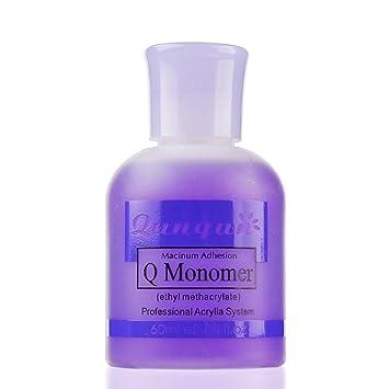 Amazon.com: Esmalte de uñas profesional Q Monomer acrílico ...