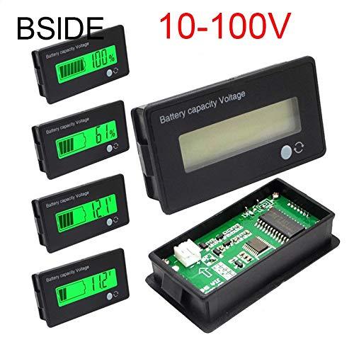 Professional 12v 24v 36v 48v Lcd Acid Lead Lithium Battery Capacity Indicator Digital, Dual Battery Meter - Voltage Indicator, Lcd Meter, Battery Indicator, V Battery, Power Indicator, Battery Tester