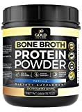 Bone Broth Protein Powder Vanilla – Grass Fed Beef 20 Servings 445g/15.7oz – Gluten Free & Great For Paleo Diet – Bone Broth Powder Supports Digestive & Immune Health – Made In USA Review