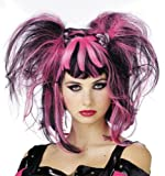 Free style, free spirit, two-tone wig for that gothic, fairy look. Want to add a freaky-look to your party wear? This is the wig for you.