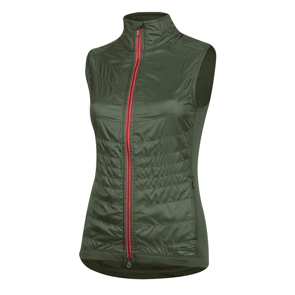 Pearl iZUMi Women's Boulevard Merino Cycling Vest, Forest, X-Large by Pearl iZUMi