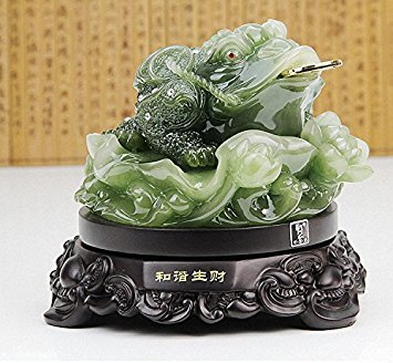 Feng Shui Money Frog Money Toad Statue ,Best Housewarming Congratulatory ,Attract Wealth and Good Luck,Feng Shui Decor