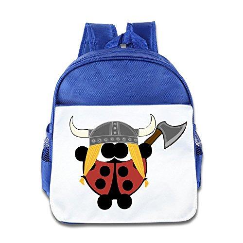 Logog 8 Cute Viking Cute Baby Boys Girls Tollder School Hiking Backpacks Bags RoyalBlue (Tomb Raider Underworld Costumes Pack Pc)