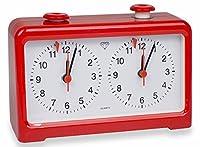 Diamond Quartz Chess Clock - Red