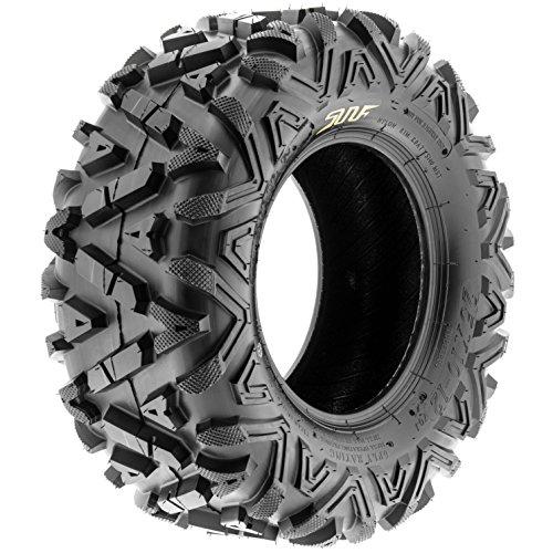 SunF Power.I 25 inch ATV UTV all-terrain Tires 25x8-12 & 25x11-12, 6 PR Front & Rear Set of 4 A033, Tubeless by SUNF (Image #9)