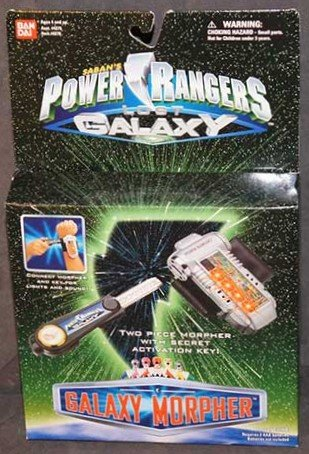 Power Rangers Lost Galaxy Galaxy Morpher Vintage 1999 Toy Set