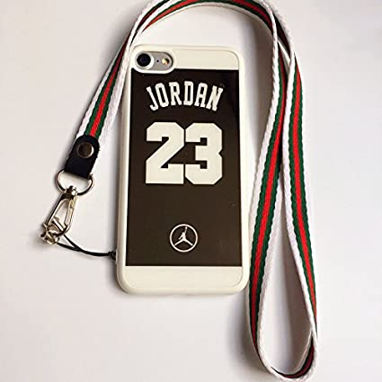 Amazon.com: iPhone 7 y 8 Jordan 23 funda, espejo reflectante ...