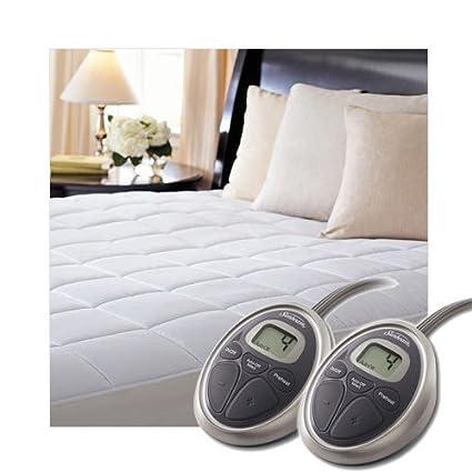 Amazon Com Sunbeam Selecttouch Premium Electric Heated Mattress Pad