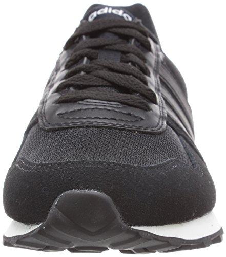 adidas NEO Damen 10k Sneakers Schwarz (Core Black/Core Black/Ftwr White)