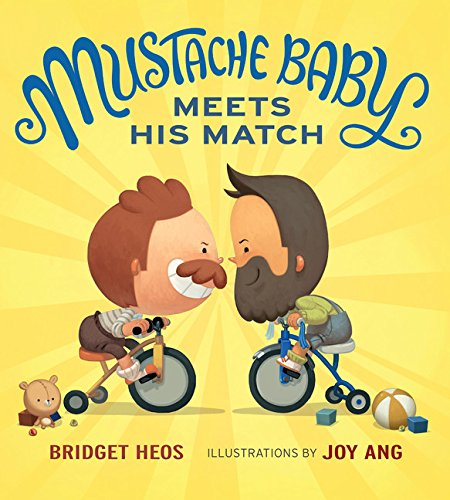 Mustache Baby Meets His Match (board -