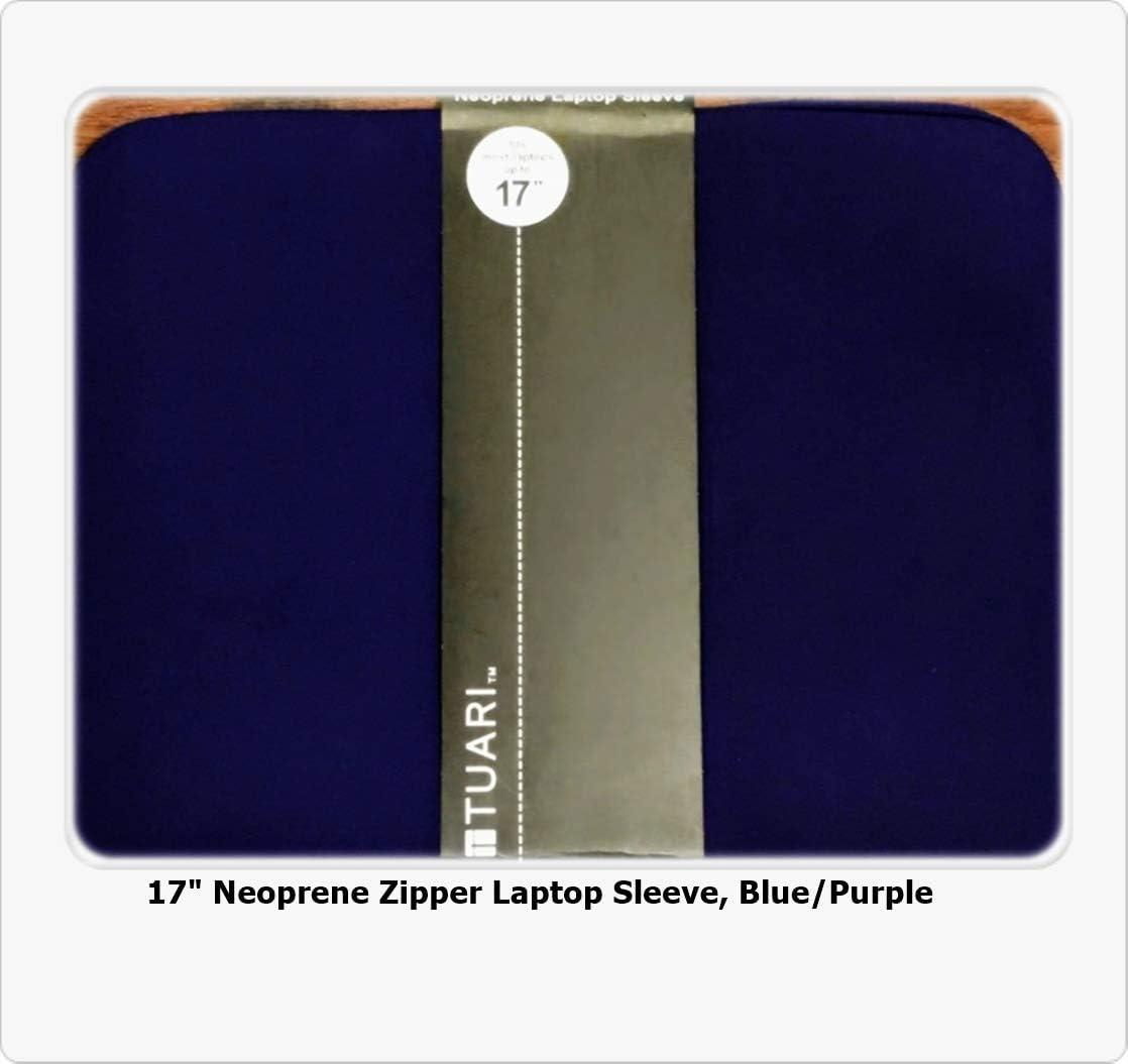 """Tuari 17"""" Neoprene Laptop Sleeve, in Purple"""