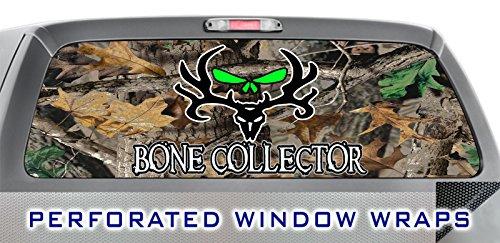 ITI Global Designs BONE COLLECTOR 003 WINDOW WRAP : Hunting Camo Camoflage : Truck Car Rear Decal - Camo Tint Window