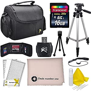 Professional Accessory Kit For all Canon, Nikon, Sony, Panasonic, Olympus Cameras, Kit Includes 10 Compact Accessories