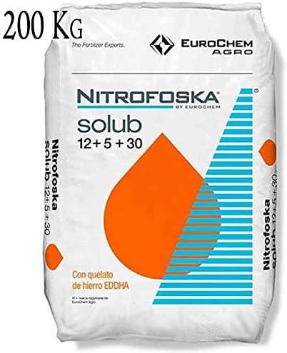 Suinga ABONO Soluble Fertilizante Nitrofoska 12-5-30. 8 Sacos de ...