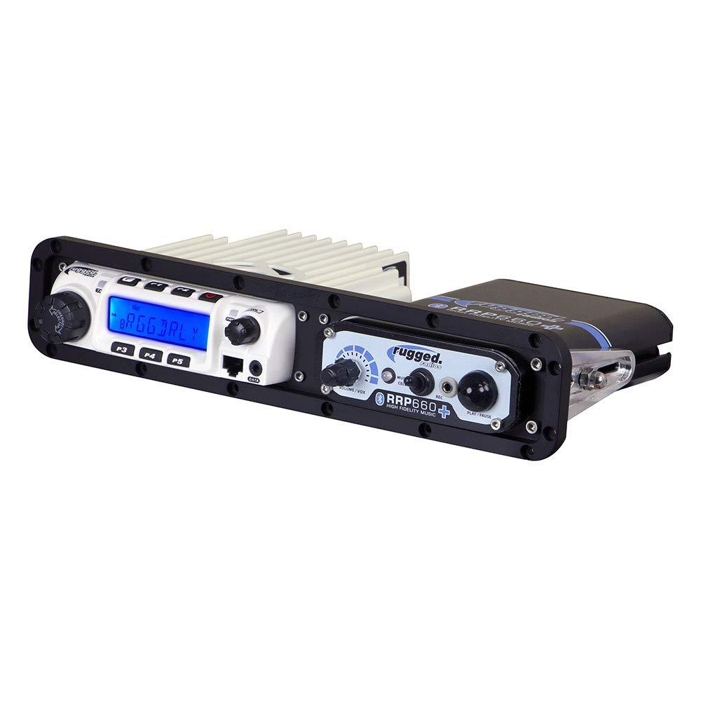 Rugged Radios MT-DM-AL-SXS-RM60 Universal Side-by-Side Mount for Rugged Radios Mobile Radios & Intercoms