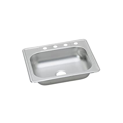elkay residential pbls2522d65sn3 revere single bowl top mount rh amazon in revere kitchen sink reviews