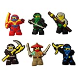 Lego Movie Badges - Brooches 6 Pcs Set #3