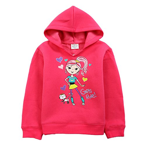 [Neighbor Girl Children Baby Pretty Little Princess and Cat Guards sweatshirts Hooded (2-7 Years)] (Bowser Costume For Dog)