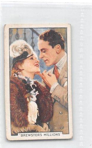 Brewster's Millions - Jack Buchanan/Lila Damita 1935 Gallaher Cigarettes Famous Film Scenes #44 (GOOD+)